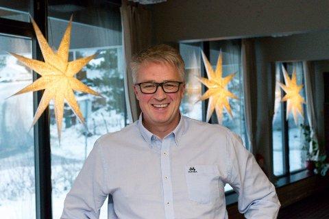 NY JOBB: Trond Bjørkeslett er ny daglig leder på Høyenhall helse- og rehabilitering i Hole.