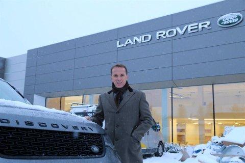 Billingstad: Nils Kjetil Tronruds bilfirma Motorpool Handel AS flytter til disse lokalene i Bergerveien 5 på Billingstad.