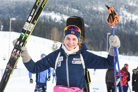 Ida Lien kunne glede seg over sølv på sprinten og la med det inn en god NM-søknad.