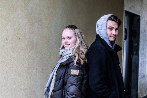 Hanne Hagen Holmstrøm (17) og Even Hannestad (17)  skal jobbe i sommer. Skal du?