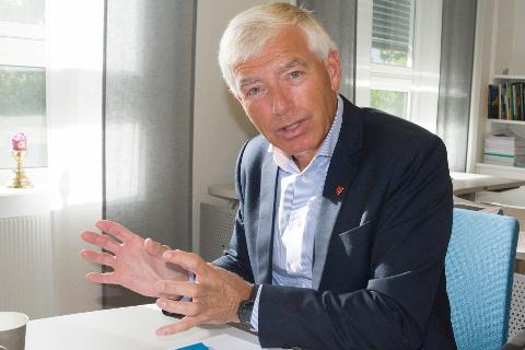 NYTT VERV: Rådmann Tore Isaksen skal lede styret ved USN.