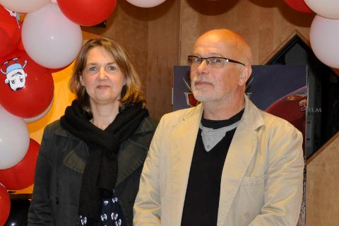 Ivonne og Kurt Salo får støtte fra Buskerud fylkeskommune til årets filmfestival.