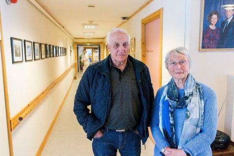 Ole Einar Dalen og Elin Helgesen i Eldrerådet vil gjerne gi hjelp til flere.