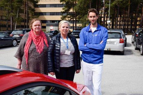 Staten bør ta regningen for å drifte ansattparkeringen på sykehuset, mener Olav Bjotveit.