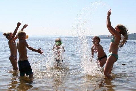 VARMERE: Onsdag og torsdag kan det bli opp mot 25 varmegrader.
