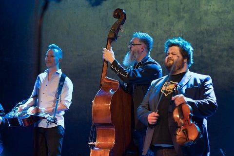 Konsert: Droslum stasjon Morten Kleven, Hans Petter Herføl og Jørgen Tangen Bendikssen i Drolsum stasjon