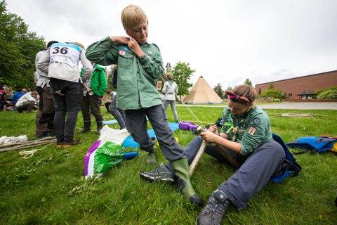 Illustrasjonsfoto: I helga arrangeres Norgesmesterskap i speiding på Nøtterøy i Vestfold.