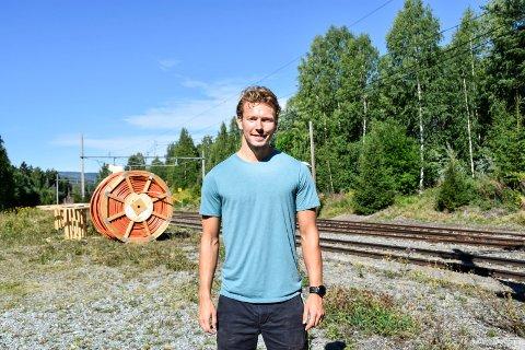 – Med kun 20 minutter inn til Sandvika blir selvsagt Hønefoss veldig mye mer attraktivt for dem som pendler, påpeker Lars Strømnes Engen.