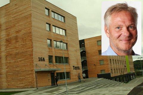 Studentbolig: Hele 150 studenter står på venteliste for å få flytte inn i studentboligene på Campus Ringerike, opplyser Hans Erik Stormoen i Studentsamskipnaden.