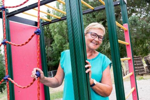 NY JOBB: Kari Marie Engnæs (61) blir ny rektor ved Bergerbakken skole på Jevnaker. Vi møtte den blide dama til en sommerprat.