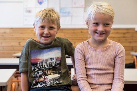 Vilde: Vilde og Vilde går i samme førsteklasse på Vang skole.
