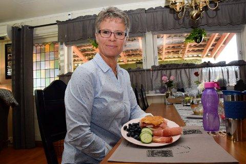 LAVKARBO: Ann-Kristin Gruer har gått ned 46 kilo, og sverger til lavkarbo. Hun spiser minst fem måltider om dagen.