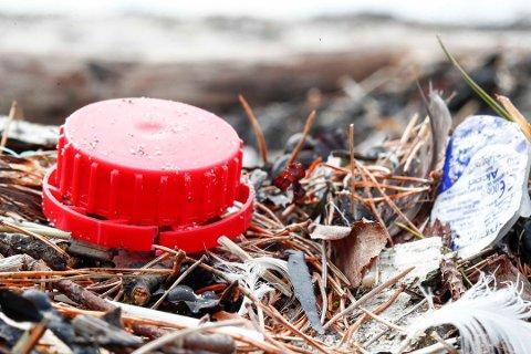 VIL BLI KVITT DETTE: Regjeringen utreder forbud mot engangsplast. Marin forsøpling er et enormt globalt miljøproblem.