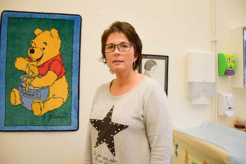 HELSESYKEPLEIER: Anne Karin Swang, leder for helsesykepleierne i Buskerud er positiv til navneendringen.