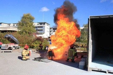 AVLYSES: Åpen brannstasjon blir avlyst også på Jevnaker i år.