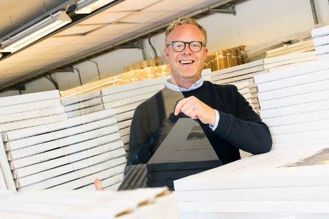 VIL VIDERE: Espen Eriksen driver Norske Glassprodukter AS. Nå selger han bedriften.