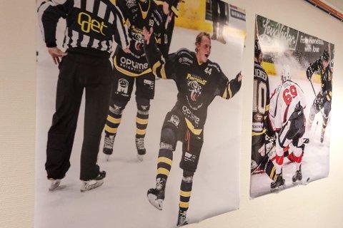 STORE DRØMMER: Henrik kan se for seg en framtid innenfor idretten. Målet er å få spille i NHL som er den største ligaen i Hockey.