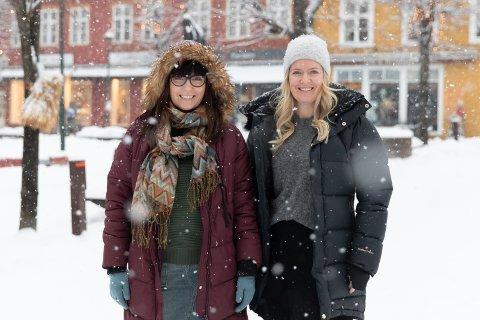 SHOWSKOLEN: Marte Helleseter Hval (38) og Guro Helleseter (33) er søstre, samarbeidpartnere og eiere av Showskolen.