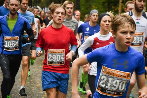 REKORD-REKORD: – Vi har tydeligvis truffet med det meste, konkluderer arrangøren etter at Hytteplanmila hadde flere deltakere enn noensinne.