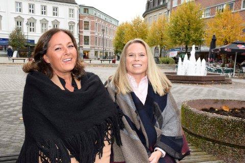 NY START: Randi Braathen Ødegaard og Anne Gomnæs Berg har sluttet i Dialog eiendomsmegling og starter opp et Hønefoss-kontor i meglerkjeden Aktiv.