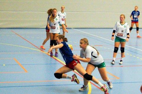 TOPPSCORER: Nanna Arntzen leverte sju mål mot Konnerud og ble HSKs beste spiller.