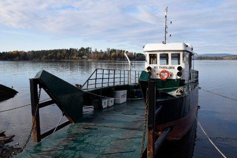 NY KAI: MS Thorbjørn trenger en ny kai mens minnestedet etter 22. juli 2011 bygges..