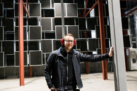 NY LEDER: Otto Hiim har flyttet fra Stavanger til Hønefoss for å lede Kryptovault på Follum.