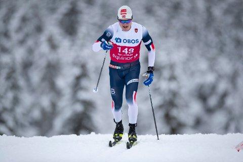 STERKT RENN: Eirik Sverdrup Augdal leverte et av sine aller beste klassiskrenn på Gålå. Nå får han gå verdenscuprenn på Lillehammer.