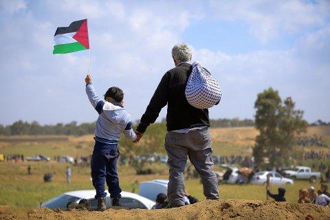 HVERDAGSLIV: - En for lengst avvæpnet palestinsk befolkning prøver å holde et hverdagsliv gående. skriver Audun Bakkerud i dette innlegget.