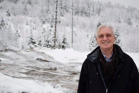 UTSIKT: Ole Martin Grimsgaard vil tilby ansatte utsiktstomter på Nes.