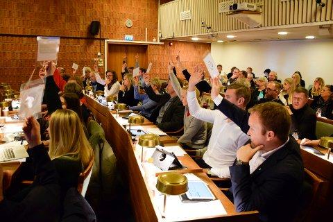 SP-STØTTE: Selv om Senterpartiets nye, store gruppe i Ringerike kommunestyre ikke fikk flertall for budsjettforslaget, fikk Sp støtte for en rekke såkalte verbalforslag.