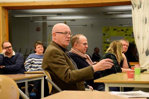 UTMERKET JOBB: Trond Nyhus synes Siv Jensen har gjort en utmerket jobb som partileder.