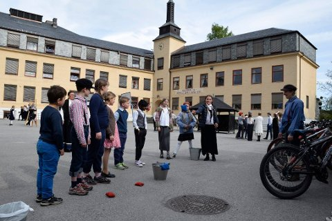 FORTSATT SKOLE? - Hønefoss by trenger en omstart i denne saken nå som byplanen formes, sier Hilde Grefsrud.