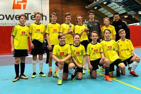 VANT: Norderhovs 2005 lag  er kretsmestere i futsal 18/19 sesongen