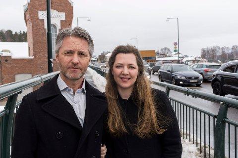 VIL STARTE SKOLE: Agnar og Heidi Jo Hannisdal vil starte internasjonal skole i Hønefoss. - En berikelsen for kommunen, sier Mark Hermansen i dette innlegget.