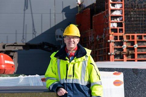 SLUTTER: Atle Nilsen, administrerende direktør i Moelven Soknabruket, setter sluttstrek i juni.