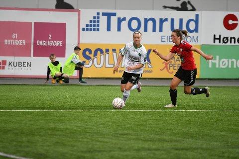 BANENS BESTE: Tanja Løfshus var i en klasse for seg på AKA i kveld.