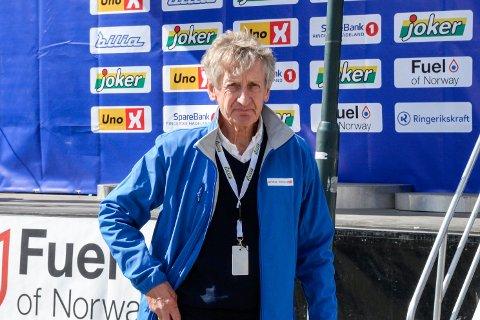FORNØYD ARRANGØR: Birger Hungerholdt var storfornøyd med gjennomføringen av Sundvolden GP og Ringerike GP.