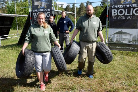 Marianne Kvamme (39) og Stian Aschim (32) jobber frivillig for Villmann. Det setter Henriette Breien (30) og Morten Eriksen (31) pris på.