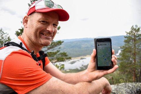 NY NETTSIDE: Tommy Støa har fått 80.000 kroner i støtte til nettsiden RingTur.