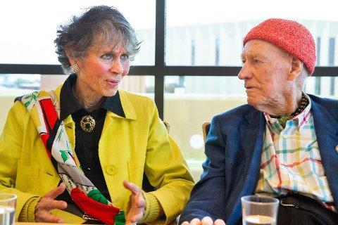 SNART GIFT: Olav Thon og Sissel Berdal Haga gifter seg fredag 21. juni på Hotel Bristol.