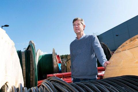 SKAPER UTRYGGHET: – Det er spesielt eldre folk som har blitt kontaktet, sier nettsjef Jan-Erik Brattbakk i Ringerikskraft Nett.