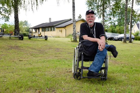 DET SOM TRENGS: - Her har jeg egentlig det jeg trenger, sier Harald Mælingen om eiendommen ikke langt fra barndomshjemmet.