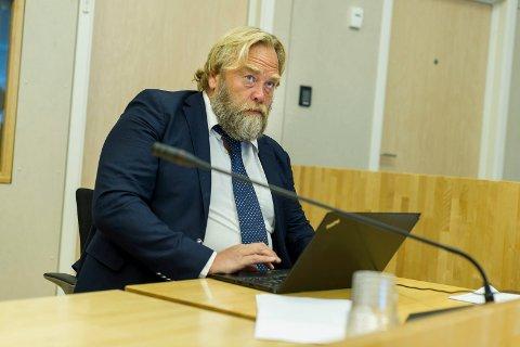 – UNØDVENDIG: Forsvarer Jon Anders Hasle ba om at klientens kontaktforbud ble opphevet.