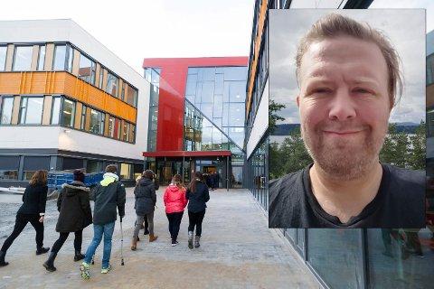 FALLER FRA: – 300 ungdommer fra Buskerud står uten læreplass. Sjansen er stor for at du kjenner en, sier Thomas C. Flåten, Leder i Rødt Ringerike.