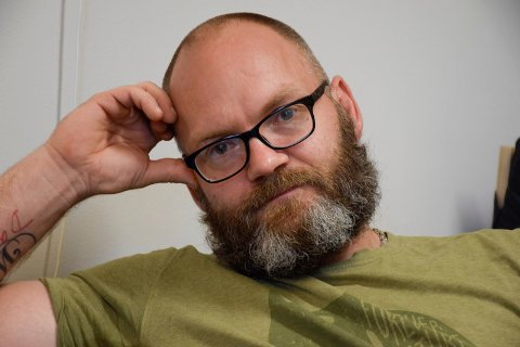 KJEMPER: Innsatt Håvard Hermansen ved Ringerike fengsel kjemper for at de som kommer etter ham, skal ha bedre tilgang til helsetjenester i fengselet.