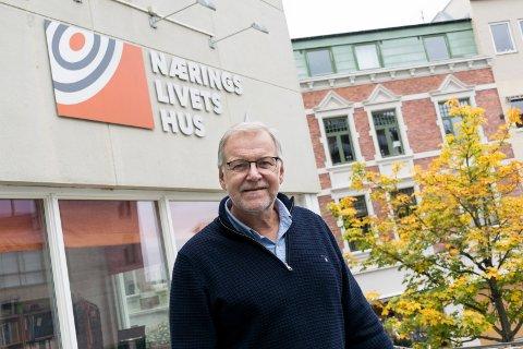 Jan Erik Gjerdbakken, daglig leder i Ringerike næringsforening.