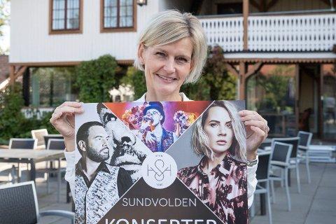 KONSERTER: Neste ut er Ina Wroldsen. Hun kommer til Sundvolden hotell 7. september. - Dette er nok eneste gangen en kan oppleve henne på en lokal scene, sier Laeskogen.