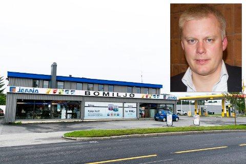 KJØPER: Daglig leder Morten Pettersen i XPND er fornøyd med kjøpet av Osloveien 23 i Hønefoss.