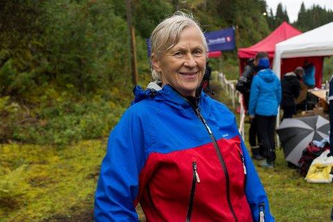 AKTIV O-LØPER: Kari Strande har drevet orientering gjennom nesten 60 år. Men i helgen var hun bare arrangør da NM gikk i Hole.